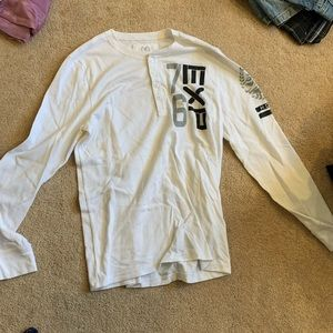Express thermal white shirt